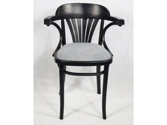 Unikatowe Krzesło Fotel Drewniany Gięty Fabryka Mebli Giętych Fameg Vintage