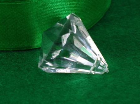 Kryształki Szlifowane Akrylowe Lodowe Brylant Diament Crystal 18mm 1szt